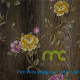 3D diseño del papel pintado/de la flor del vinilo Wallpaper/PVC