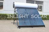 ヒートパイプ加圧ソーラー温水器