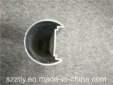 Profilé de LED d'extrusion en aluminium anodisé personnalisé de la série 6000