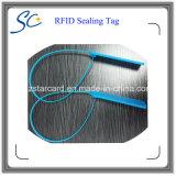 Etiqueta durable del lacre RFID del cable de la alta calidad