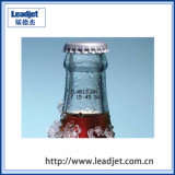 Imprimante à jet d'encre continue de bouteille approuvée de boisson de la CE