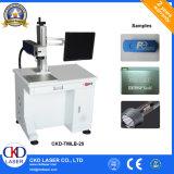 Máquina giratória Desktop da marcação do laser para casos móveis
