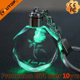 Hot 3D Luxury Glass Crystal Keychain Gifts (YT-3271)