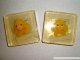 De natuurlijke Met de hand gemaakte Transparante Zeep van de Staaf van het Toilet van het Stuk speelgoed voor Kinderen