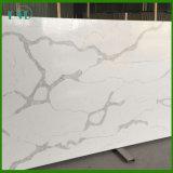Plak van de Steen van het Kwarts van Calacatta de Witte Kunstmatige