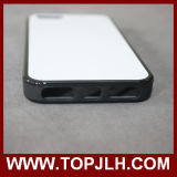 Sublimation de coutume la 2D masque des cas de téléphone du pc pour l'iPhone 5/5s/Se