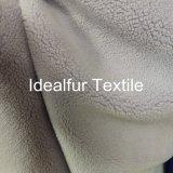 L'imitation de la laine de particules en peluche en polyester