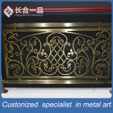 パターン304#Stainless鋼鉄柵か手すりを切り分けるCustomziedの青銅