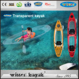 Kayak Ryder Recreativo Duplo 100% Transparente