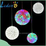 Decoração de LED Multicolor Flower Ball Light