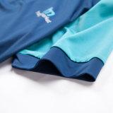 Напечатанная рубашка пола Promoional Dri тенниски подходящая