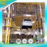 La línea de montaje automático de automóviles