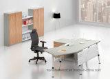 Metallbein-hölzerner leitende Stellung-Schreibtisch-moderne Büro-Möbel (HF-BSA05)