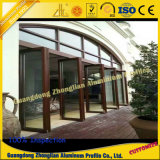 Profil de portes et fenêtres en aluminium pour l'hôtel