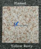 Azulejo oxidado amarillo natural modificado para requisitos particulares G682 del granito