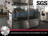 Tipo de peso automático máquina de enchimento e tampando do líquido