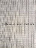 Tessuto del panno morbido dell'ago di goccia micro con il disegno quadrato