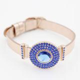 De nieuwe Armband van Bithstone van het Ontwerp met de Band van het Leer van Pu voor de Juwelen van de Manier