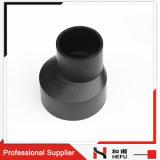 중국 제조업체 Staright 구조 하수 물 블랙 HDPE 파이프 피팅