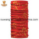 安いポリエステルMicrofiberの卸し売りニースペーズリーによって印刷されるマルチ継ぎ目が無いスカーフ