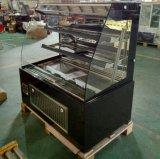 빵집 상점 (K760AN-M2)에 있는 케이크 또는 생과자 또는 샌드위치 전시를 위한 Multideck 냉각기 진열장