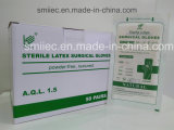 Перчатки Порошк-Свободно стерильное Guantes Quirurgico латекса хирургические