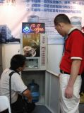 硬貨によって作動させるF306-Hxのコーヒー自動販売機