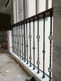 De façon simple balcon intérieur et extérieur rambarde