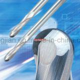 Molino de extremo de la nariz del Bal del carburo para el aluminio del corte