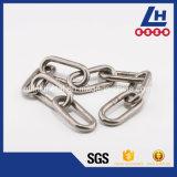 Catena a maglia di alta qualità dell'acciaio inossidabile SUS304/316