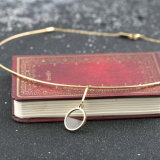 De Eenvoudige Draad van de Juwelen van de manier om de Halsband van de Nauwsluitende halsketting van de Vrouwen van de Schijf