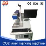 Máquina caliente de la marca del laser del CO2 del estilo 30W con el certificado del Ce