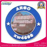 Изготовленный на заказ Pin отворотом высокого качества с стикером печатание
