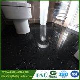 高品質の輝きの黒の水晶石の床タイル
