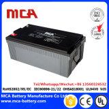 AGM de la batería solar de las baterías del AGM 12V de la batería de SMF VRLA
