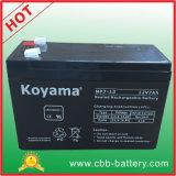 12V 7Ah Armazenamento de chumbo-ácido de bateria UPS, o sistema de alarme