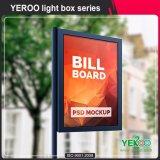 Het aluminium kader-Geleide Lichte doos-Straat raad-Openlucht PostAanplakbord van de Lamp