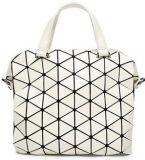Sacs à main géométriques de trellis de diamant de vente en gros neuve du pliage des femmes (BDY-1706020)