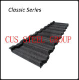 Telhas revestidas revestidas de telhas de telhado do metal da pedra clássica de Terrabella da telha de telhado do metal/de telhadura do metal da pedra clássica vermelha Terracotta da qualidade