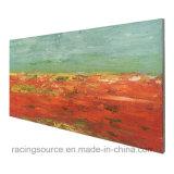 Impression fabriquée à la main encadrée de toile de Scenary de plage de peinture à l'huile d'art de mur