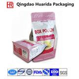 Sacchetto di plastica biodegradabile inferiore quadrato per alimento per animali domestici