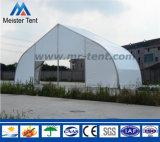 Tienda clara usada al aire libre grande de la exposición del palmo para el acontecimiento de la boda