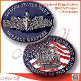 Rame/oro personalizzato/moneta d'argento del metallo di placcatura per i regali promozionali