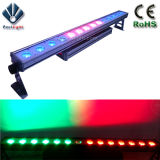 Luz de la arandela de la pared del color de la ciudad de 96X10W RGBW4in1 LED