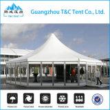 高品質のイベントのためのガラス壁が付いている六角形の結婚式のテント