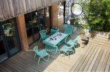 Patio-im Freientee-Tisch-Flechtweiden-Möbel