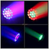 광저우 최신 판매 19PCS LED 이동하는 맨 위 급상승 빛