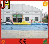 熱い販売の水ゲームのための膨脹可能な障害物コース