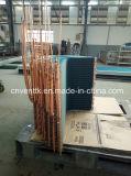 高品質Lタイプ銅管の青いひれの蒸化器