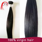 Выдвижение Weave человеческих волос оптовой ранга 7A шелковистое прямое